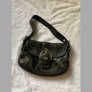 Coach leather soho bag